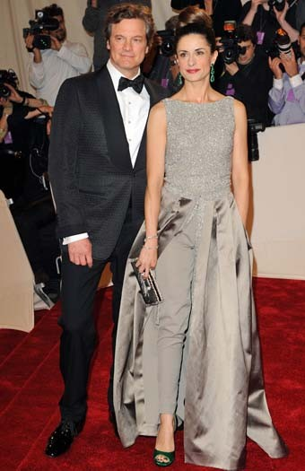 Livia Firth at the Met ball 2011, in a Stella McCartney